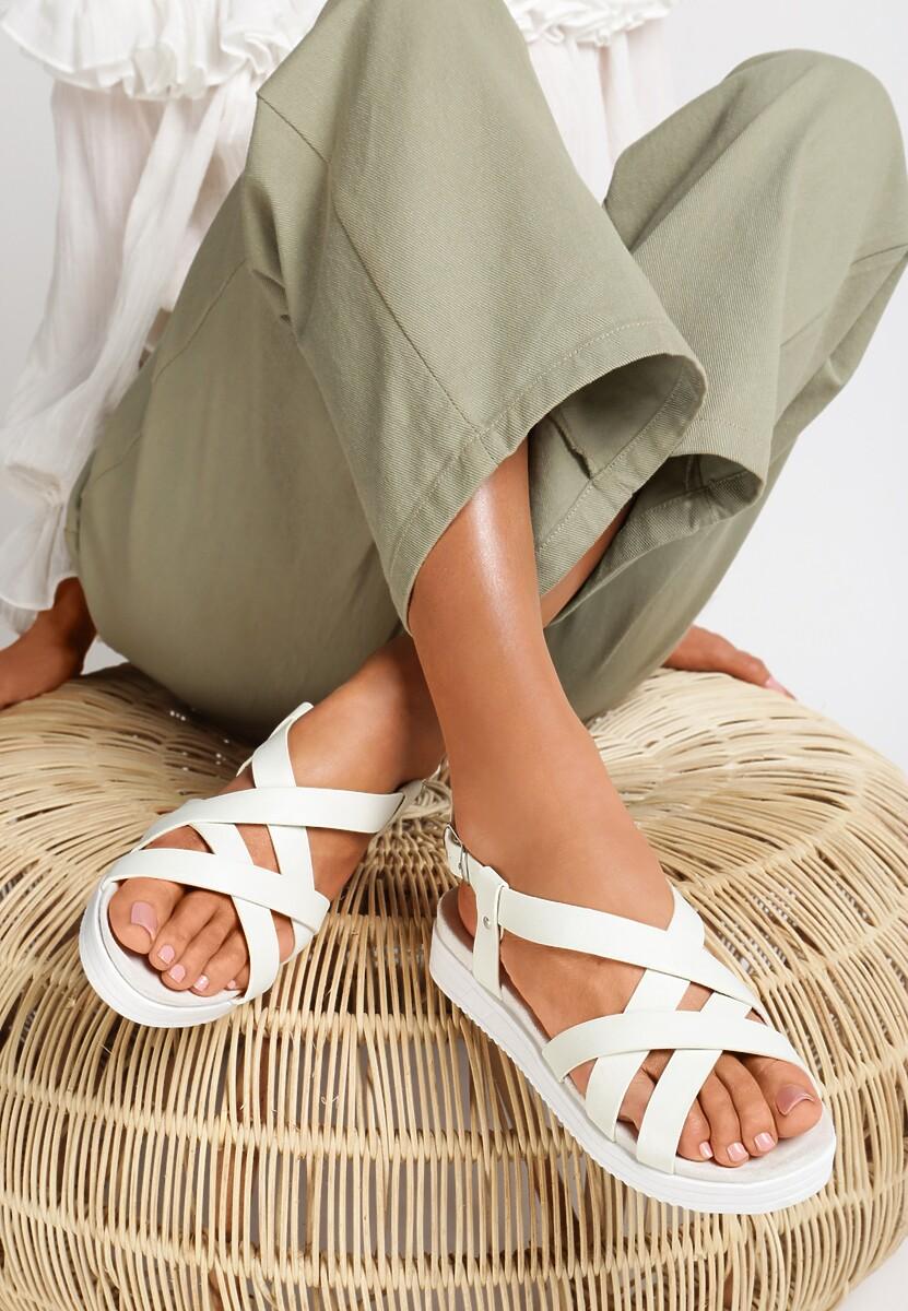 Białe Sandały Lapwing