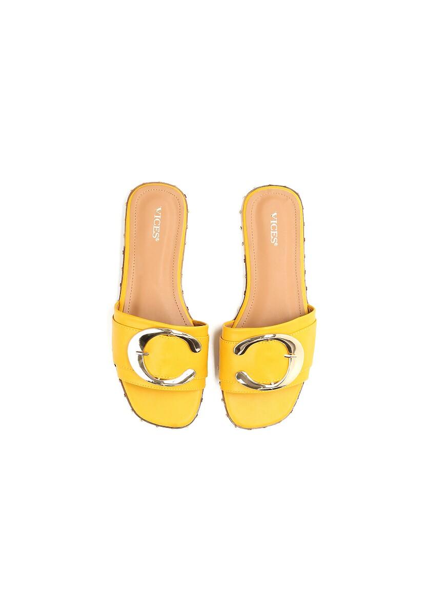 Żółte Klapki Round Trip