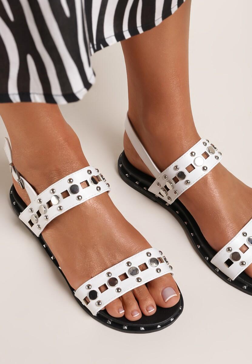 Białe Sandały Electric