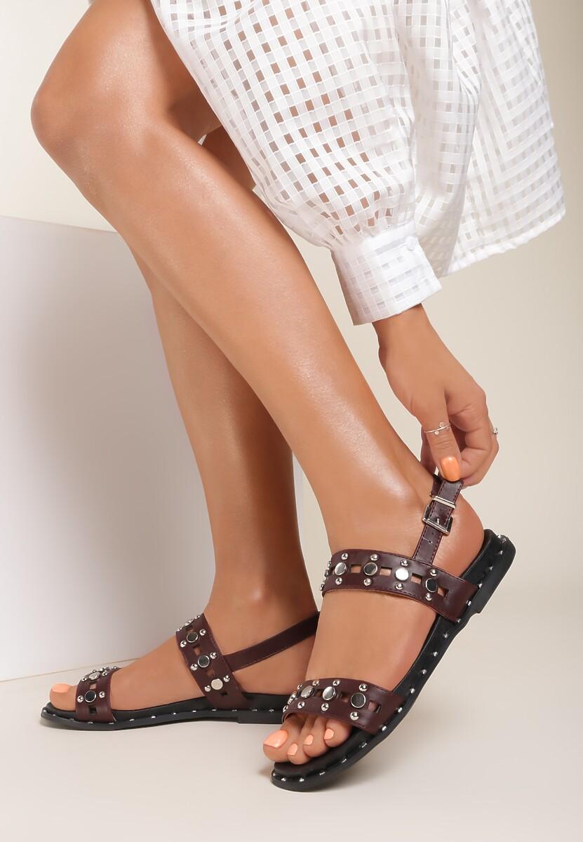 Brązowe Sandały Electric