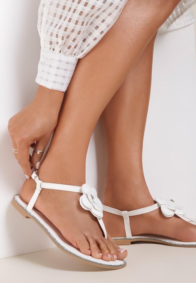 Białe Sandały You're a Miracle
