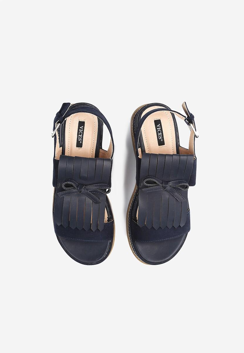 Granatowe Sandały Outrageous