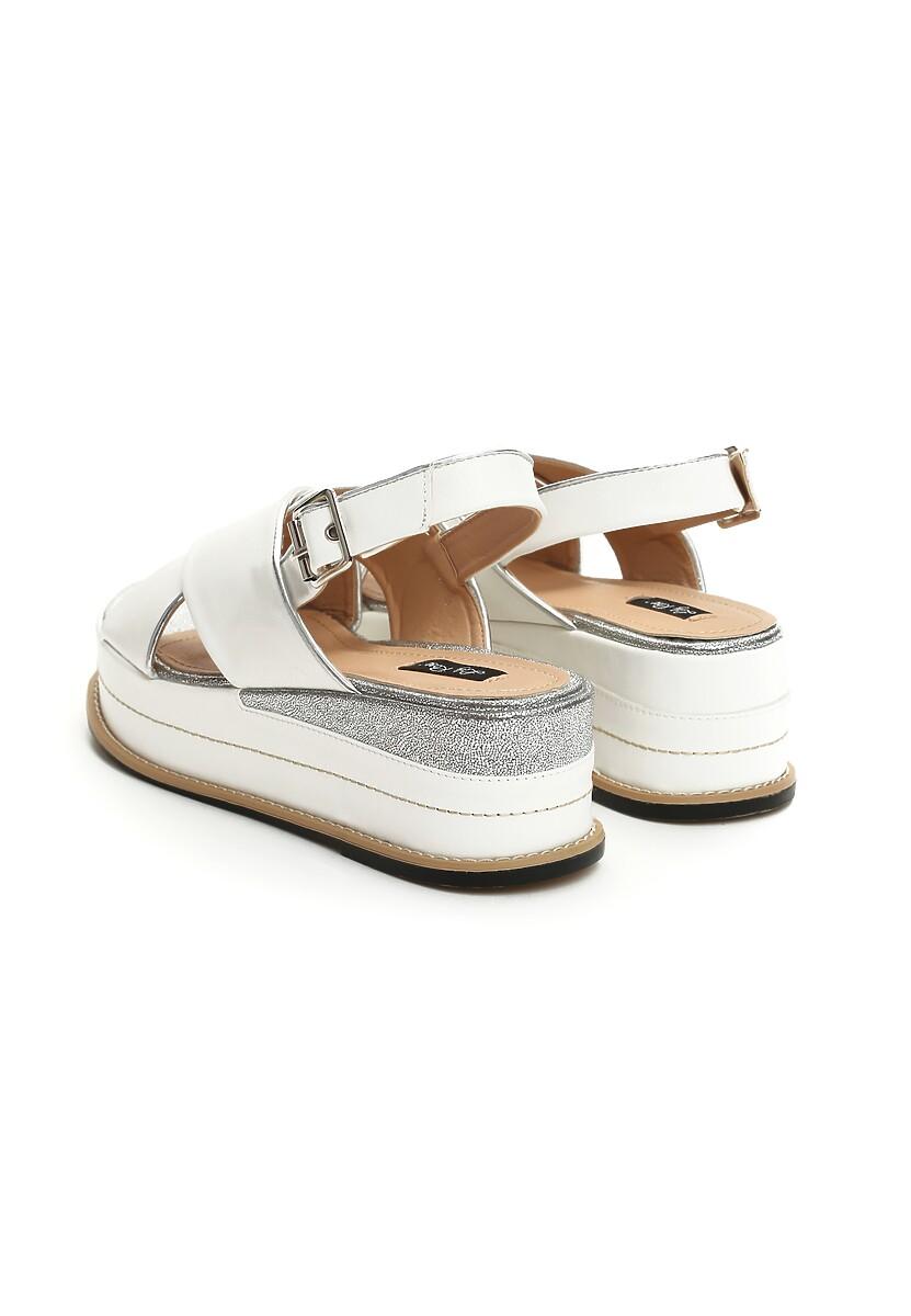 Białe Sandały No Matter What