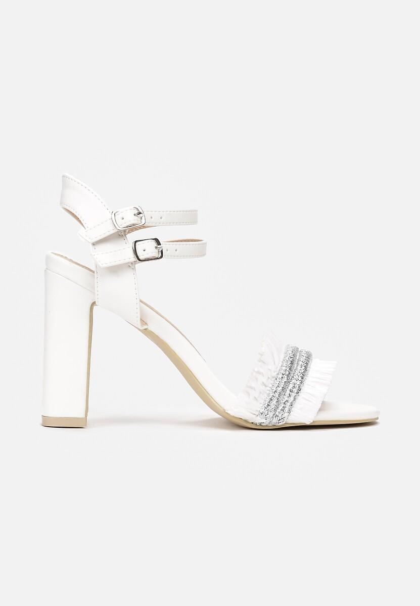Białe Sandały Rapeseed
