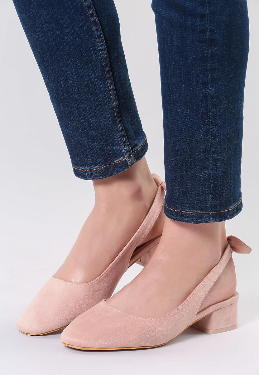 Różowe Sandały One Like You