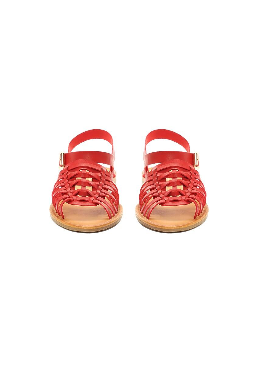 Czerwone Sandały Outsider