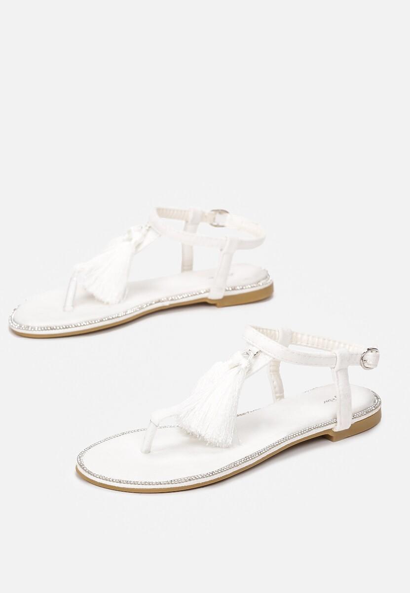 Białe Sandały Try Your Luck