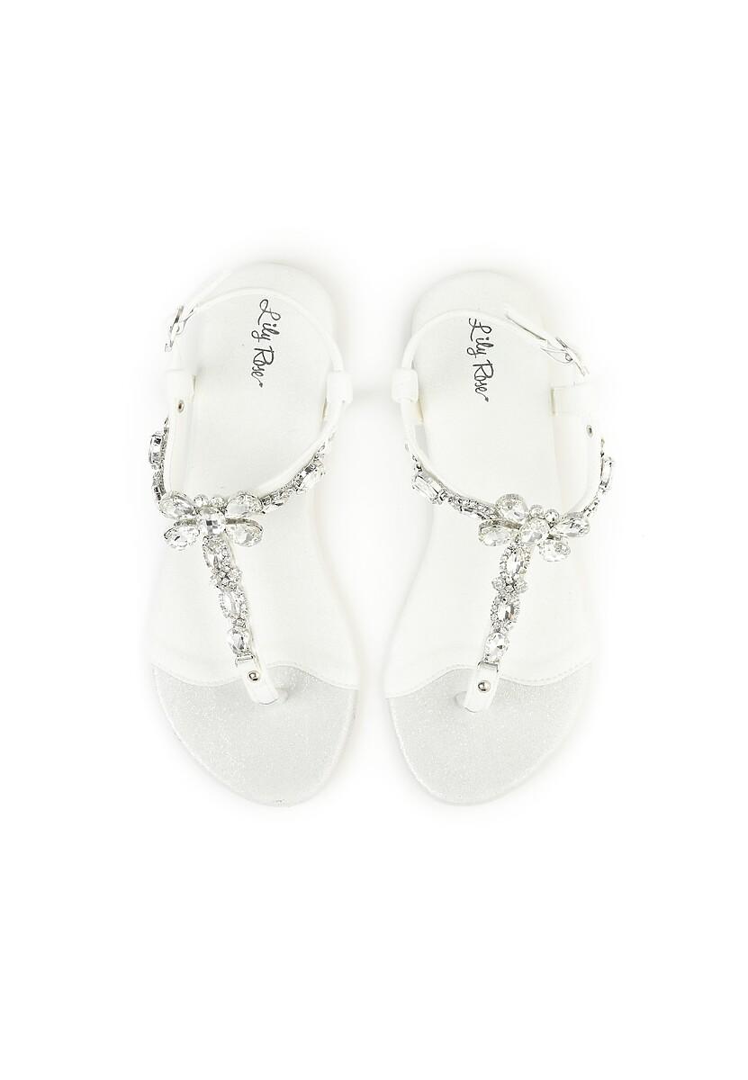 Białe Sandały Joyous