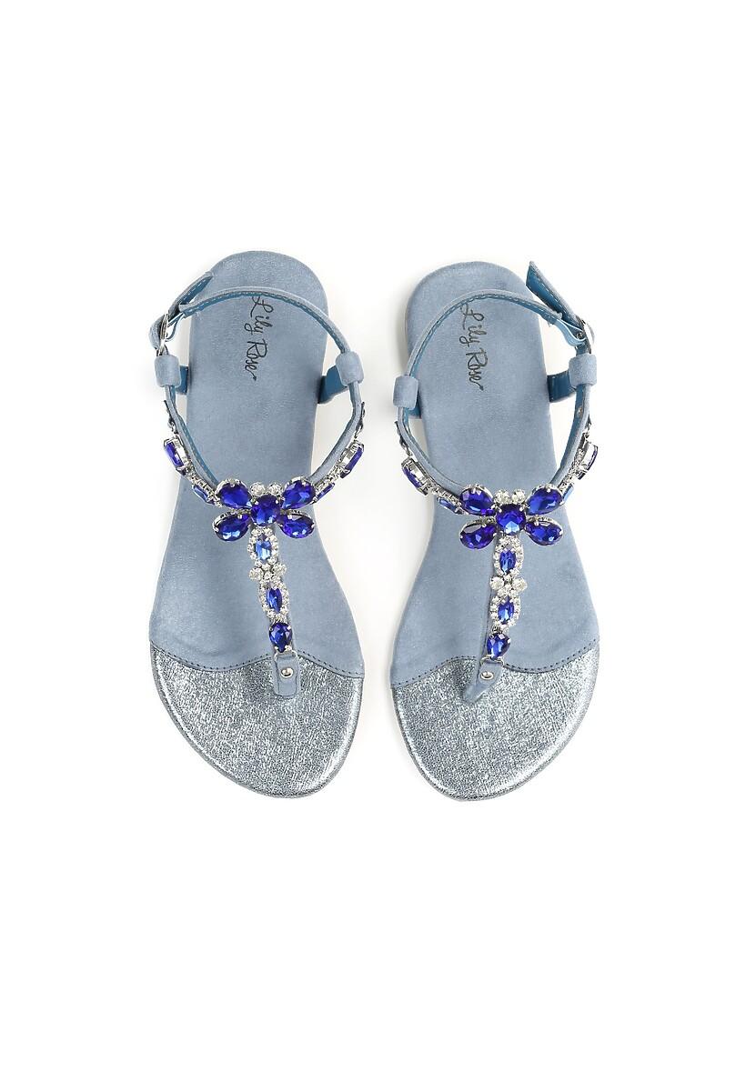 Niebieskie Sandały Joyous