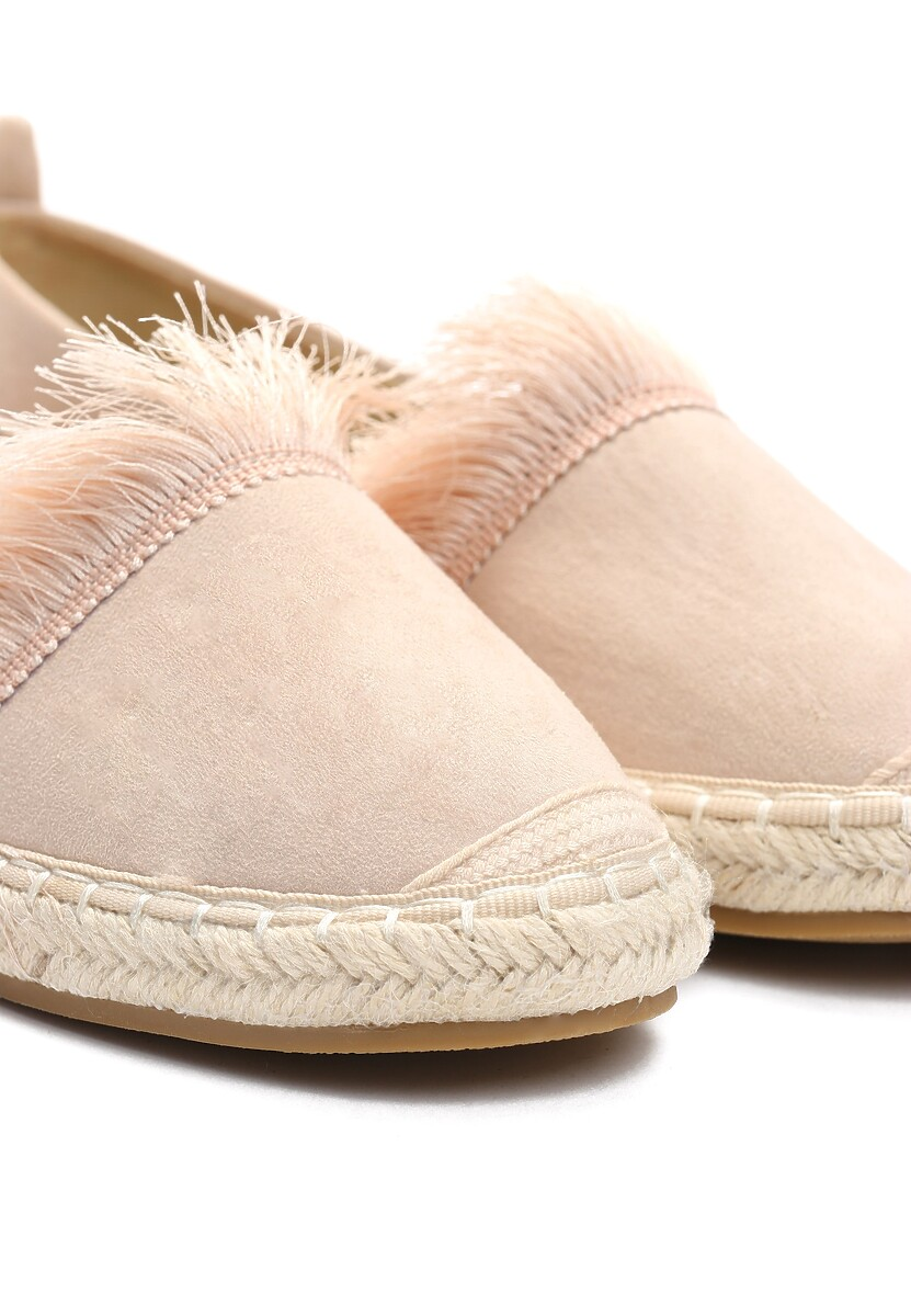 Beżowe Espadryle To The Middle