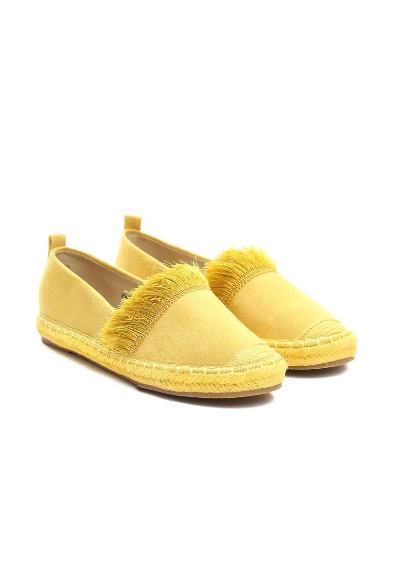 Żółte Espadryle To The Middle