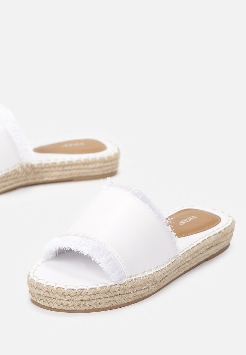 Białe Klapki Princess Dream