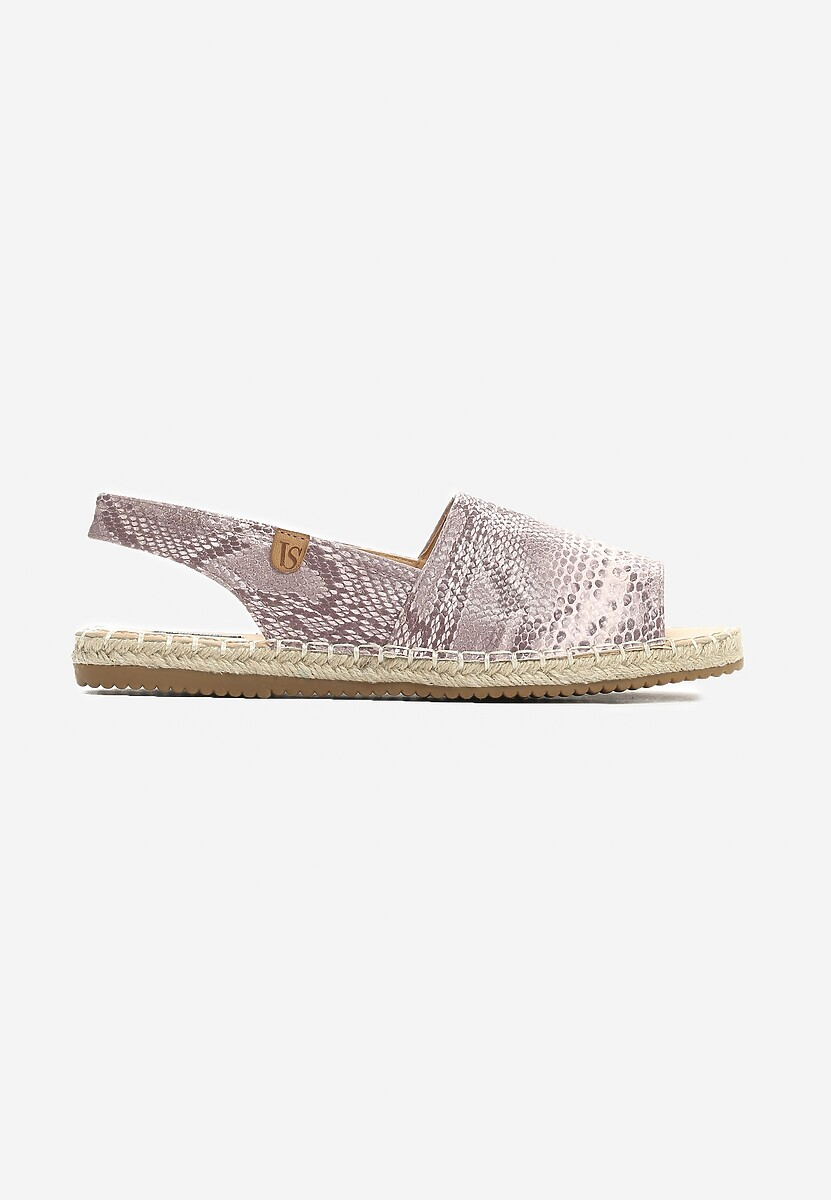 Różowe Espadryle Royal Red