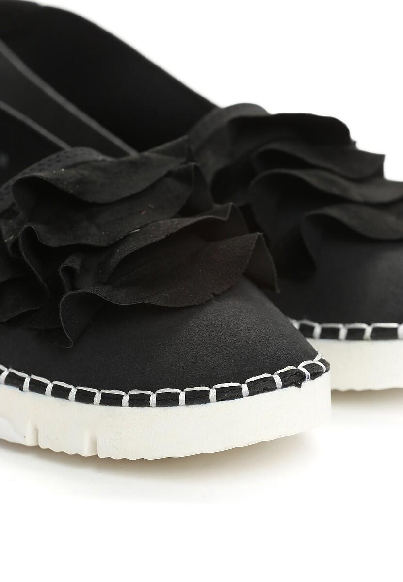 Czarne Slip On Choose