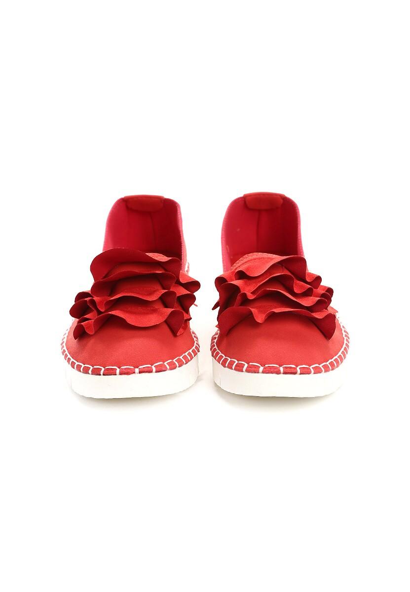 Czerwone Slip On Choose