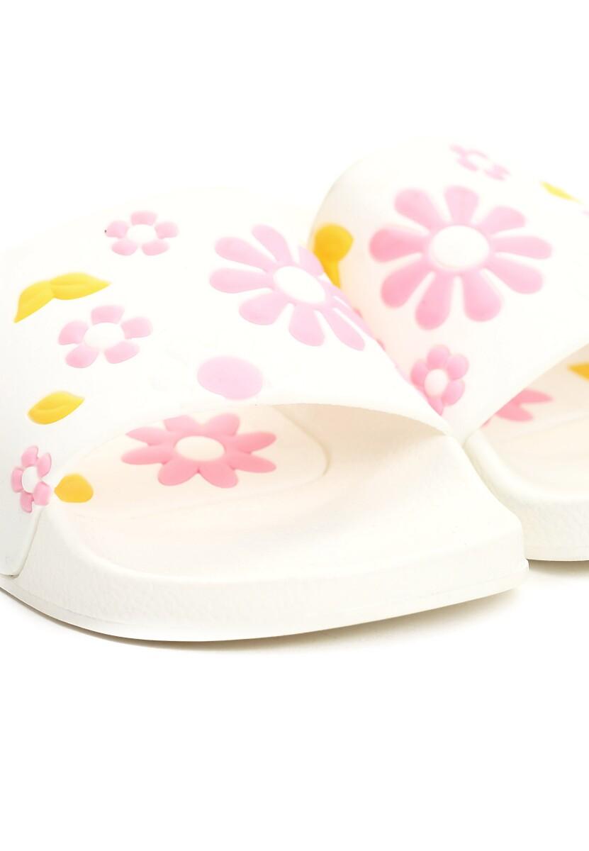Białe Klapki Flowering Rush