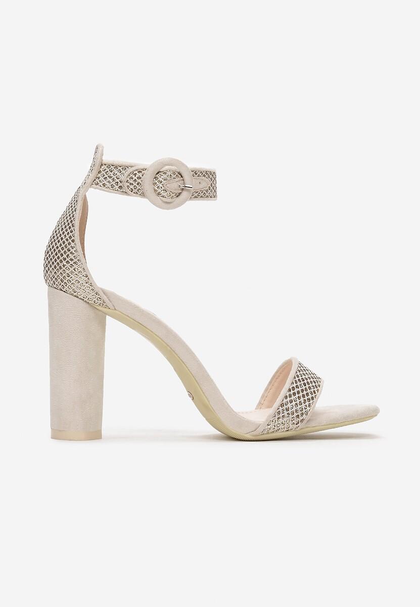 Beżowe Sandały Chichi