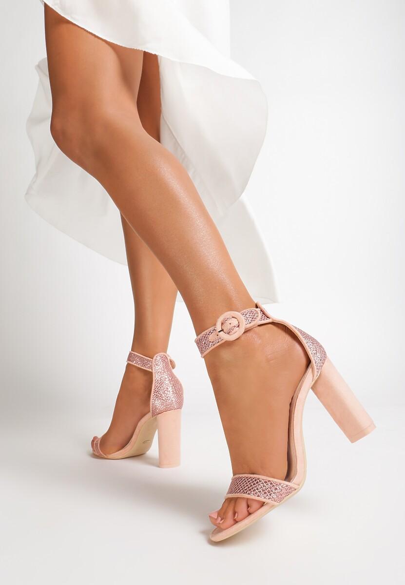 Różowe Sandały Chichi