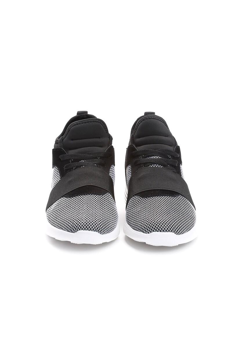 Czarne Buty Sportowe Paper Fuse