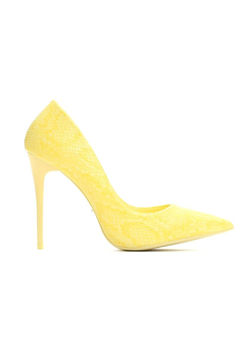 Żółte Szpilki Scratched Soul