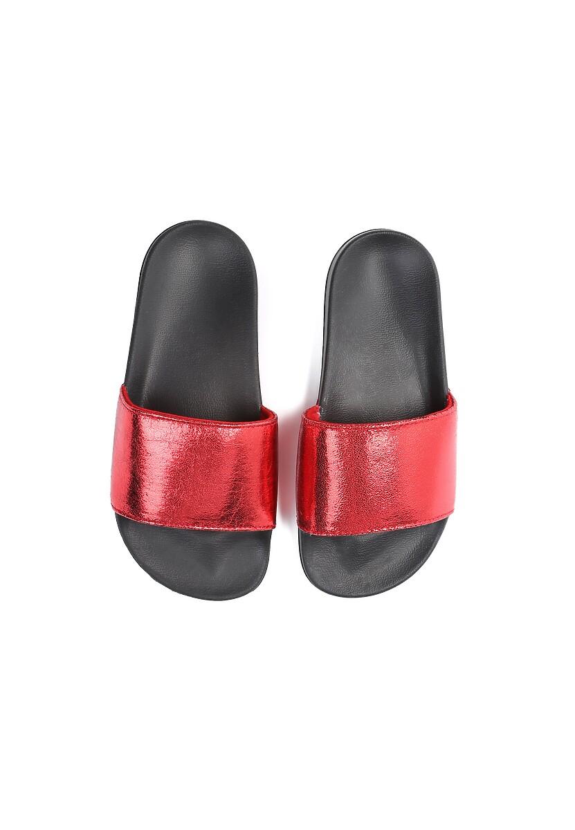 Czerwone Klapki Nougat