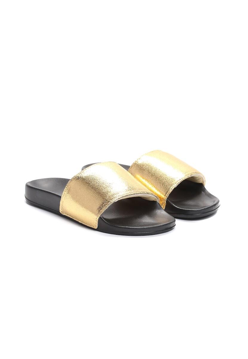 Złote Klapki Nougat