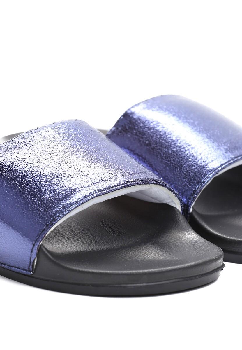 Niebieskie Klapki Nougat