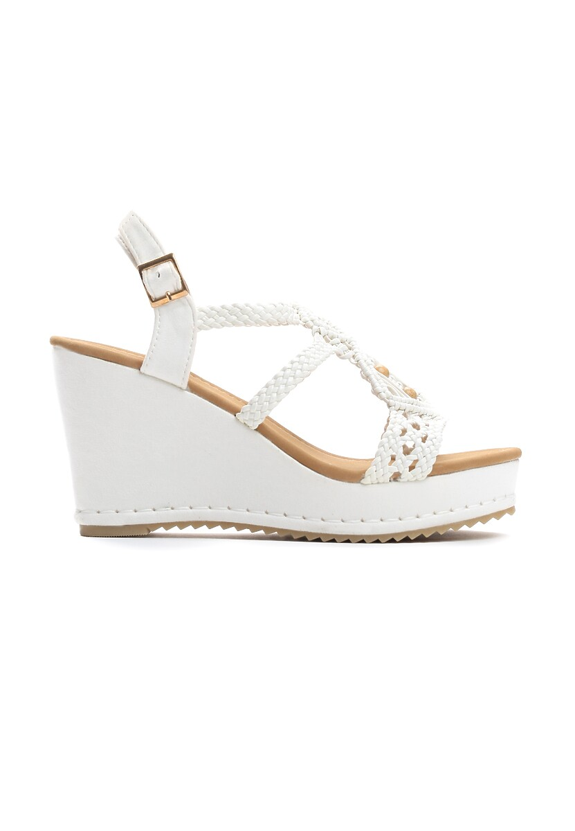 Białe Sandały Sensibility