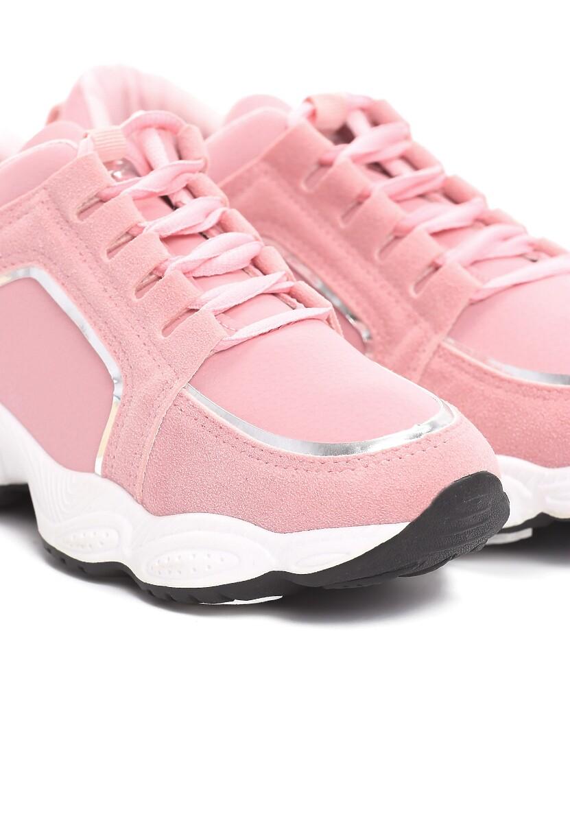 Różowe Sneakersy Long Run
