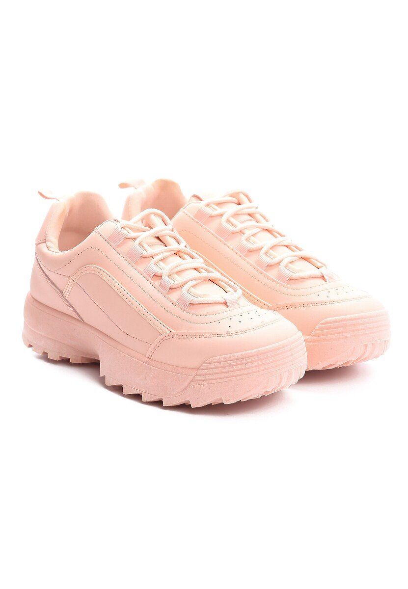 Różowe Sneakersy Get This