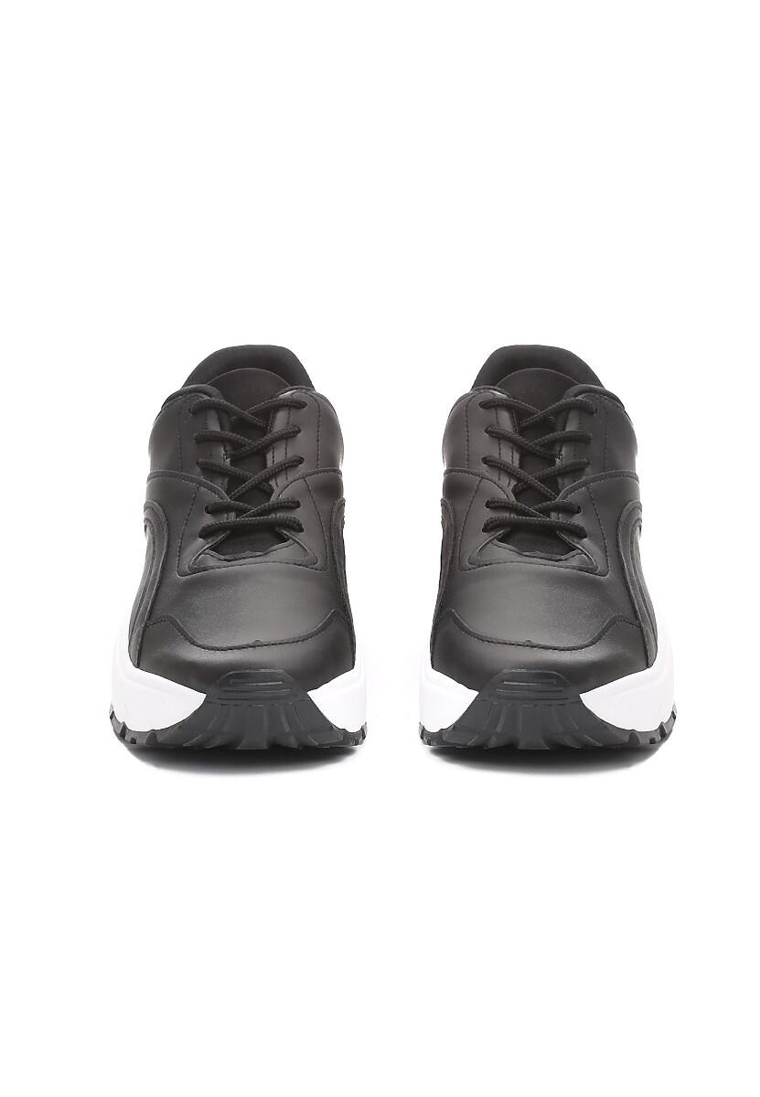 Czarne Sneakersy Backyard