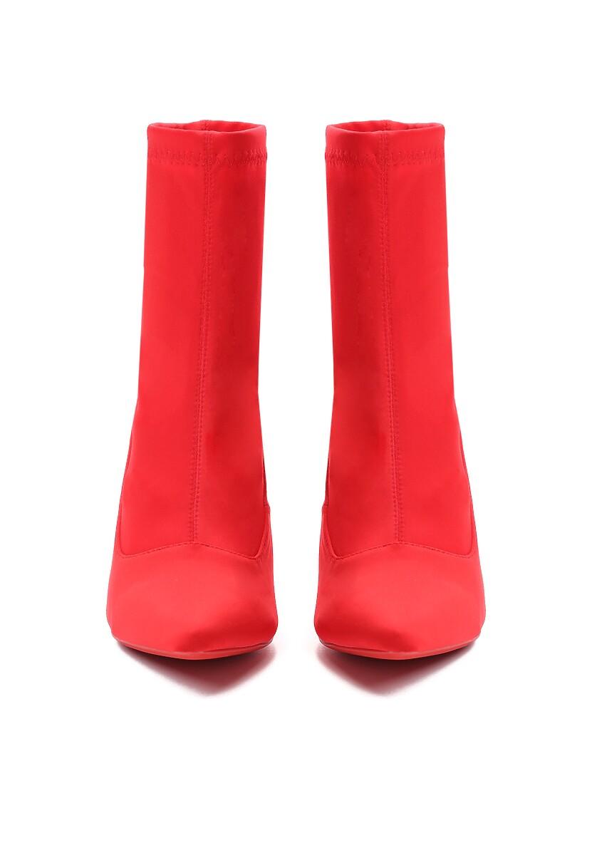 Czerwone Botki Sensually
