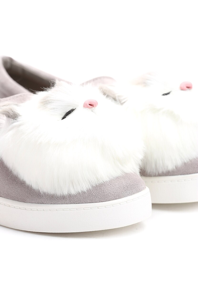 Szare Slip On Night Cloud