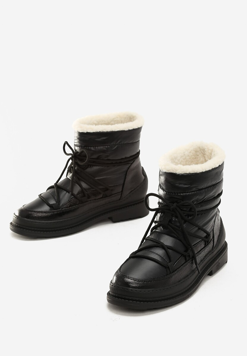 Czarne Śniegowce No Need