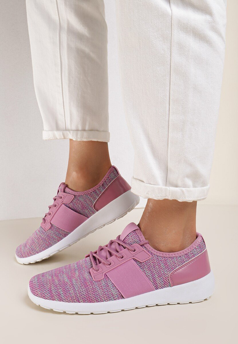 Różowe Buty Sportowe Professedly
