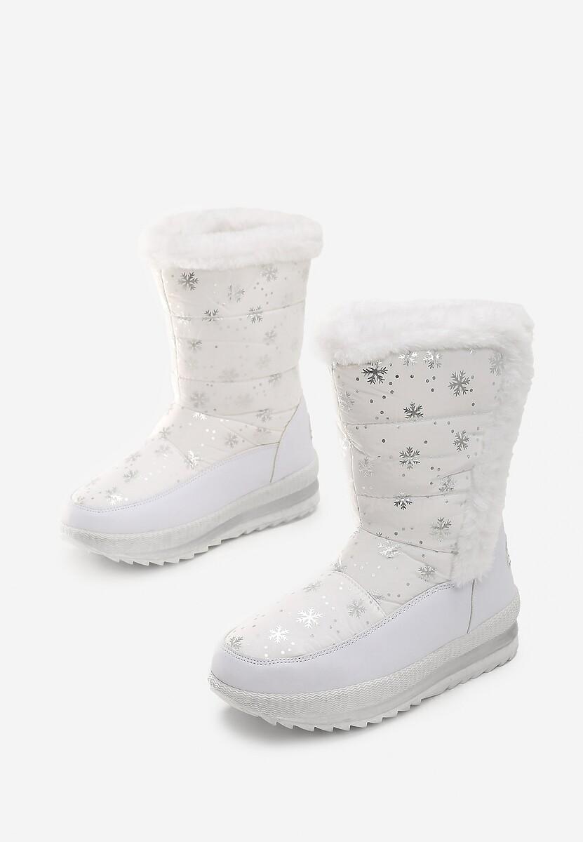 Białe Śniegowce Twin
