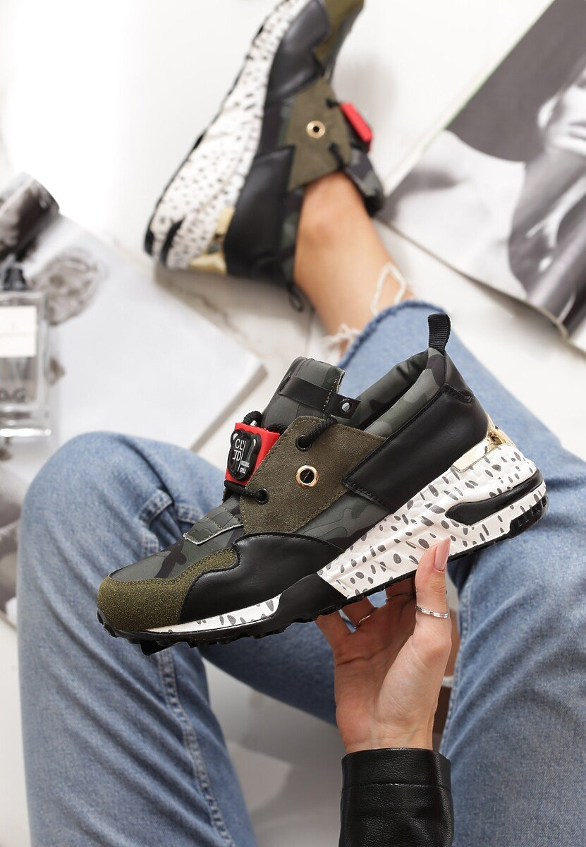 Zielone Sneakersy Million Reasons