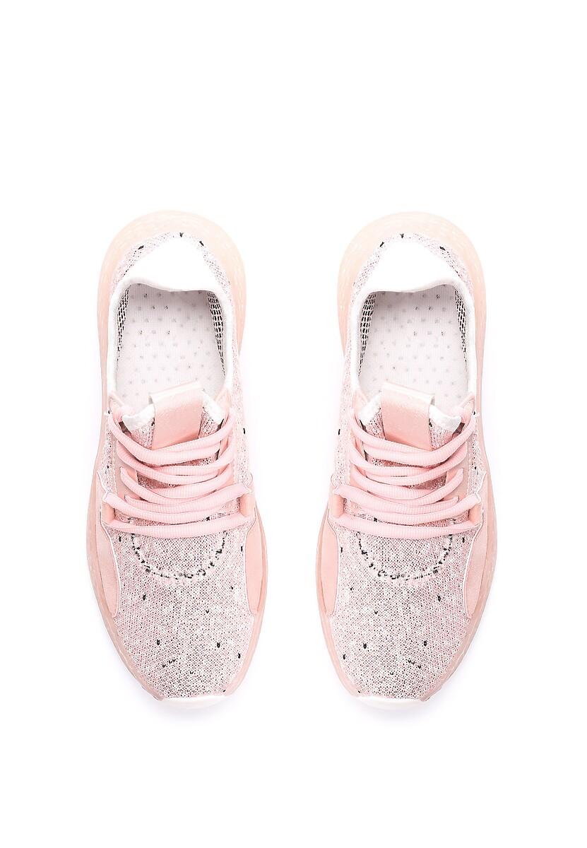 Różowe Buty Sportowe Cogitative