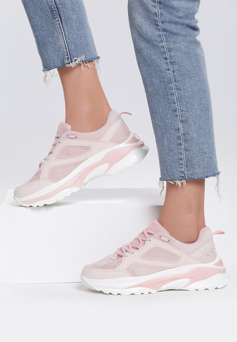 Różowe Sneakersy Dusk
