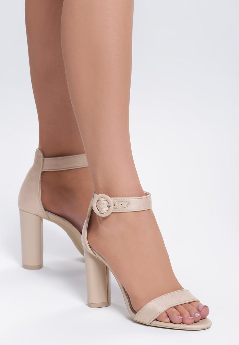 Beżowe Sandały Dialectics