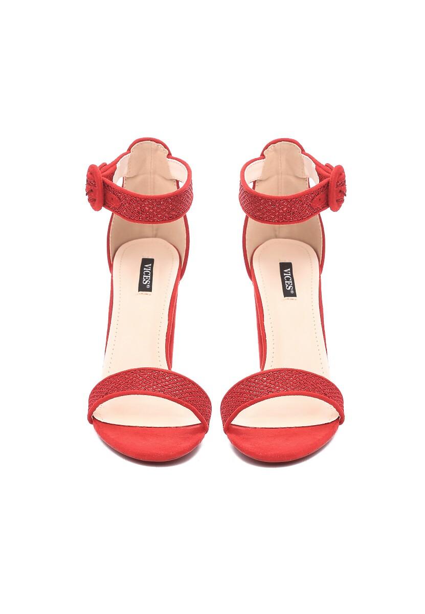 Czerwone Sandały Chichi