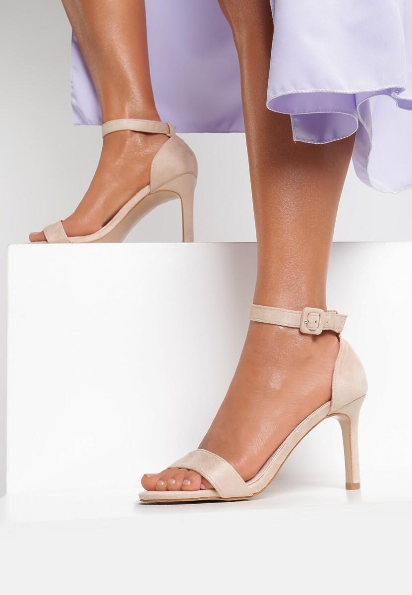 Beżowe Sandały Whyfor