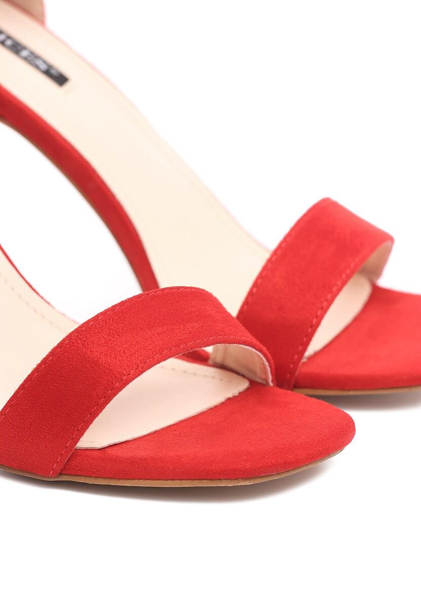 Czerwone Sandały Whyfor