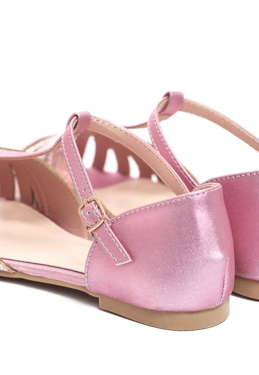 Różowe Sandały Delighting Glow
