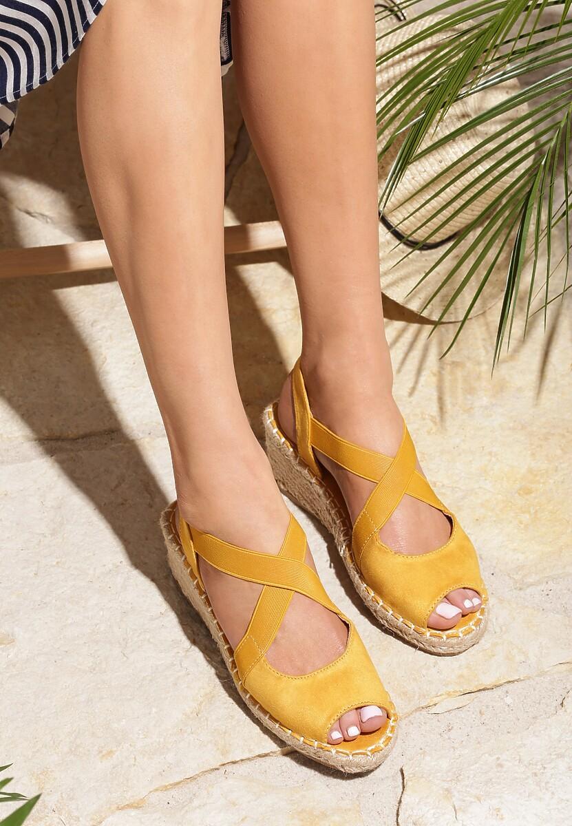 Żółte Sandały Thundersquall