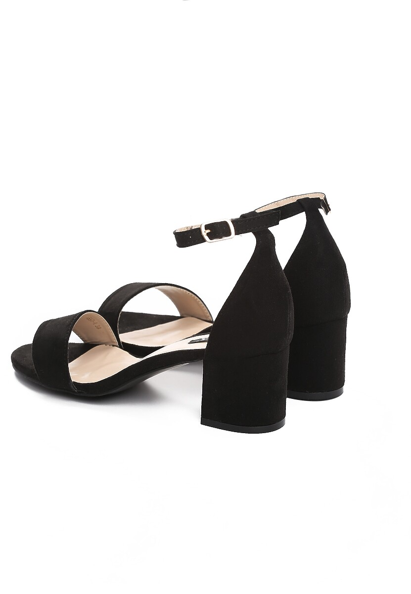 Czarne Sandały Play