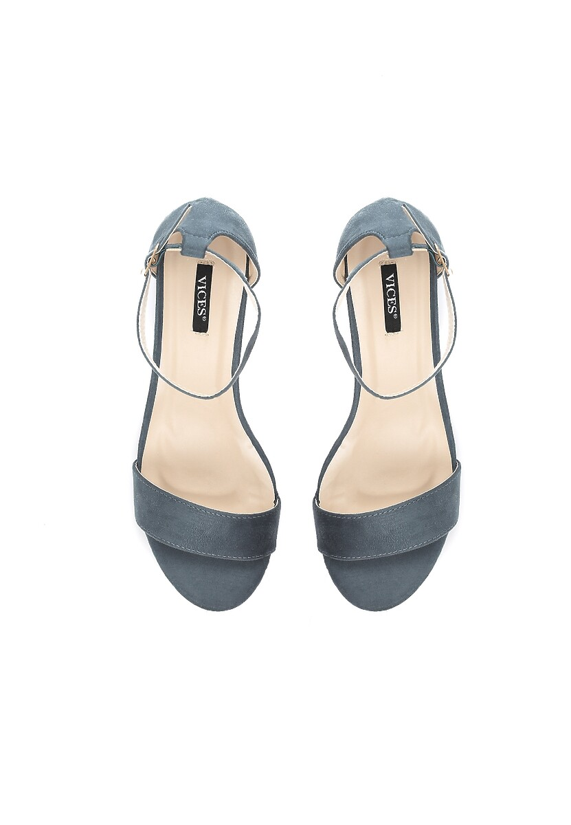Niebieskie Sandały Play