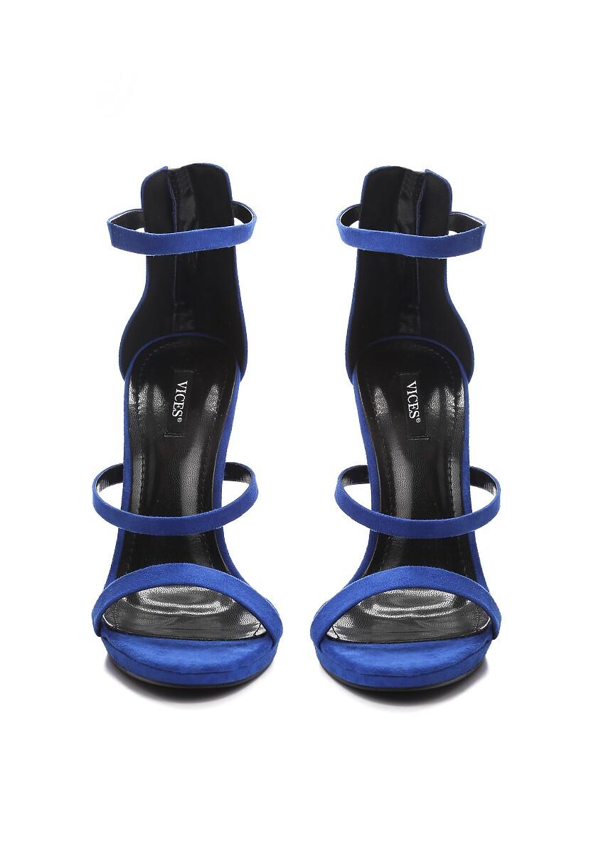 Niebieskie Sandały Tattersall