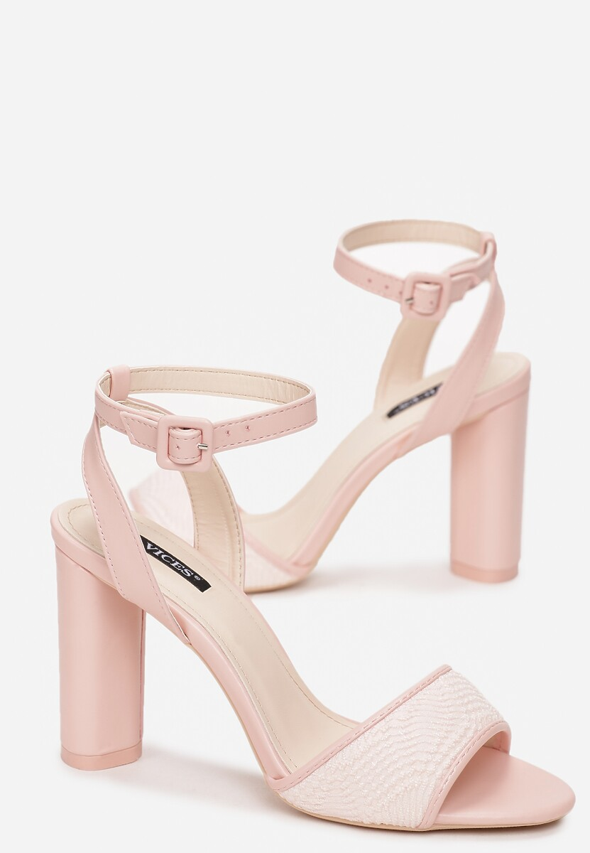 Różowe Sandały Noting