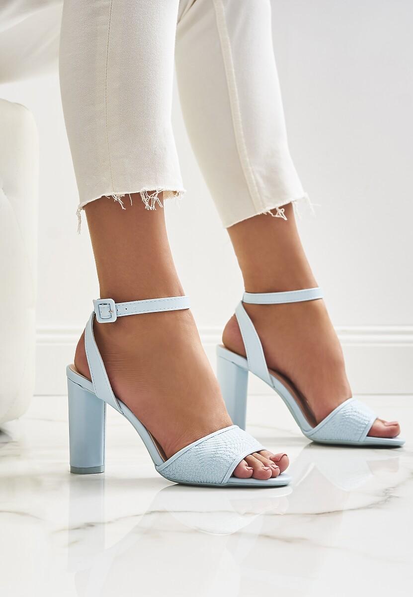 Niebieskie Sandały Noting